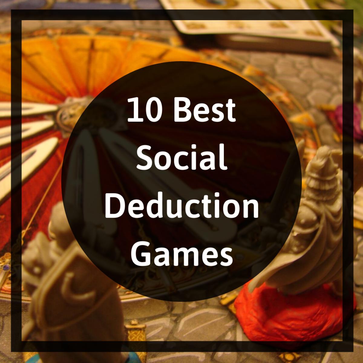 Top 10 Social Deduction Board Games