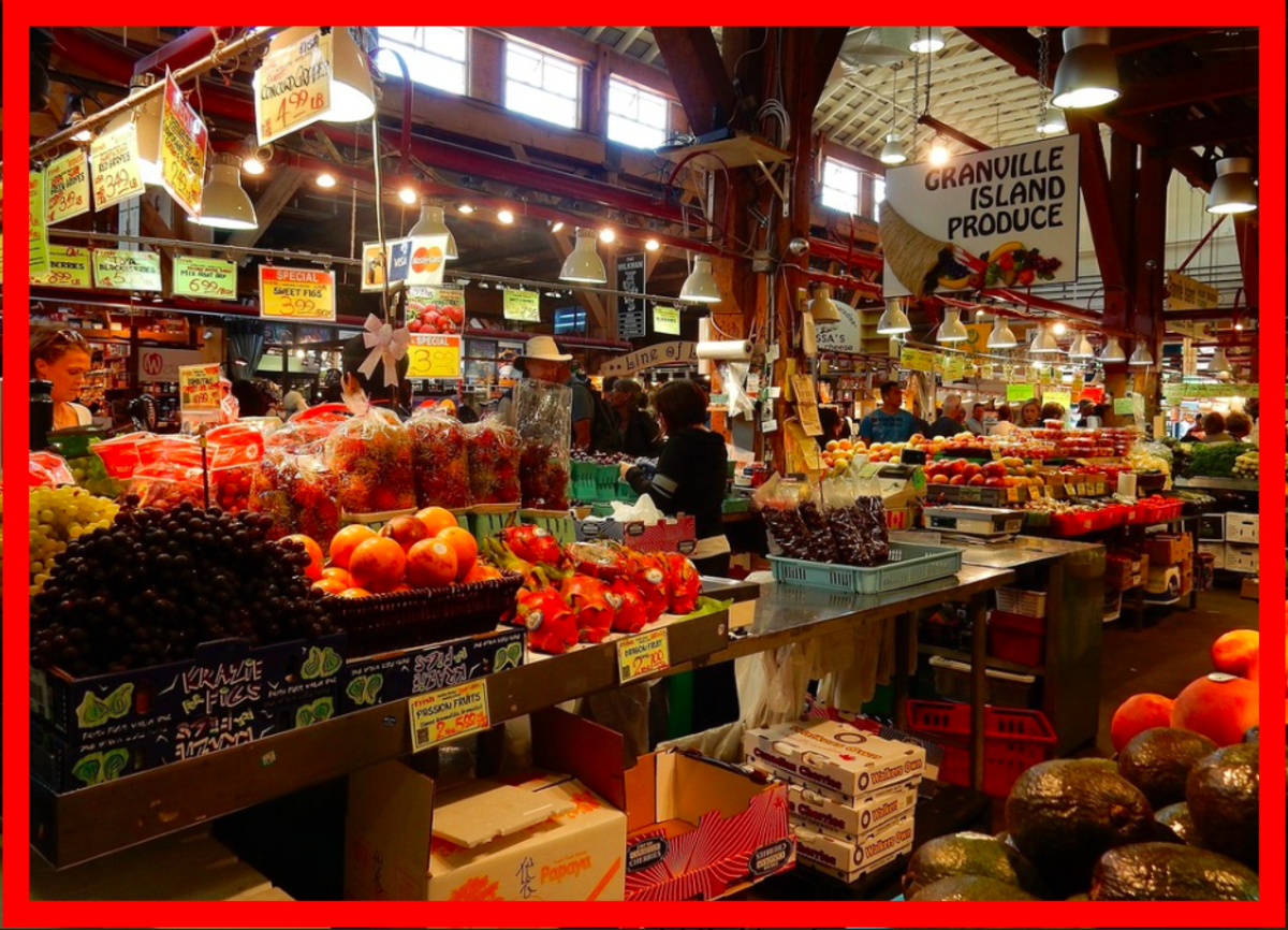 No two people would walk through this market and notice the exact same thing. Your characters shouldn't either!