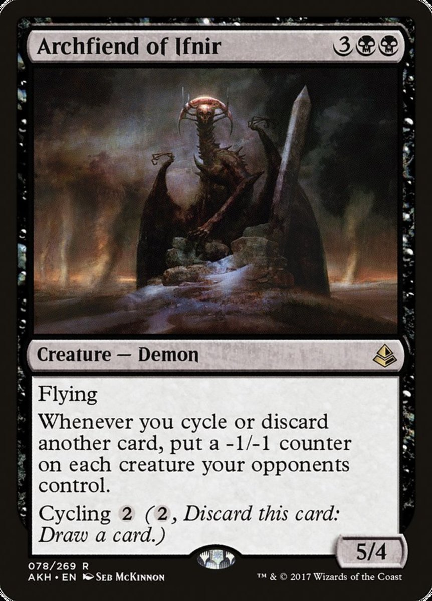 Archfiend of Ifnir in Magic: The Gathering