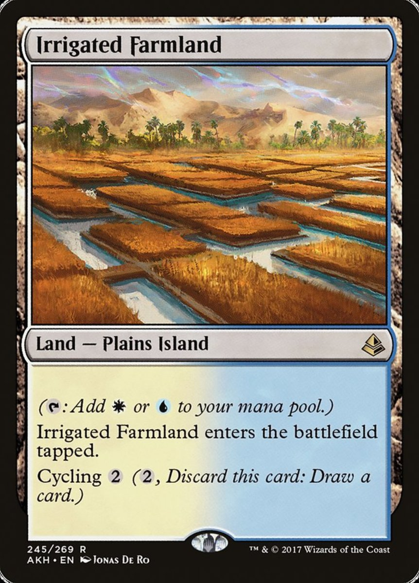 Irrigated Farmland in Magic: The Gathering