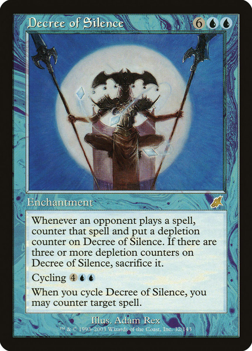 Decree of Silence in Magic: The Gathering