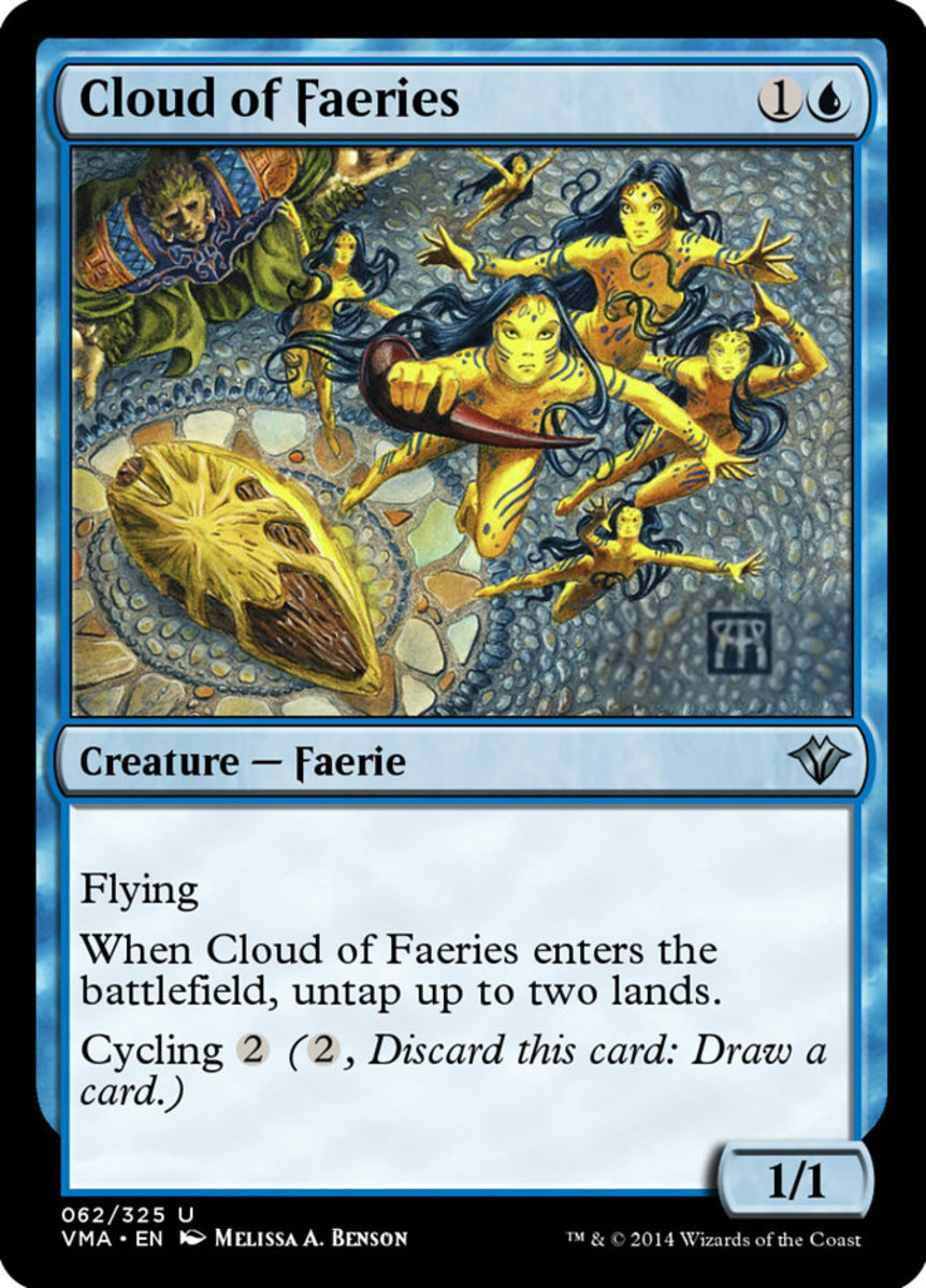 Cloud of Faeries in Magic: The Gathering