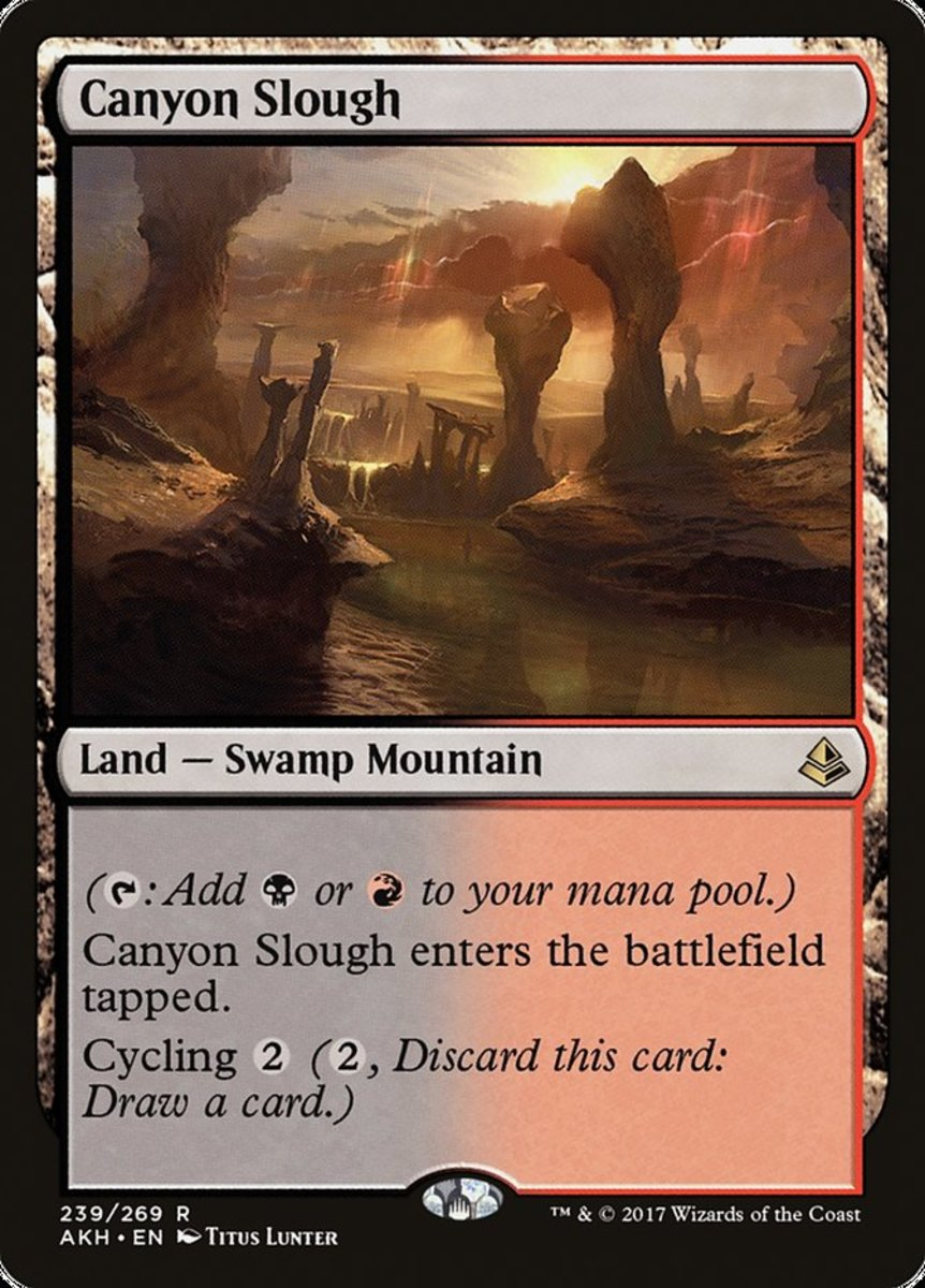 Canyon Slough in Magic: The Gathering