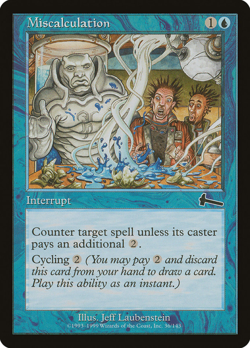 Miscalculation in Magic: The Gathering