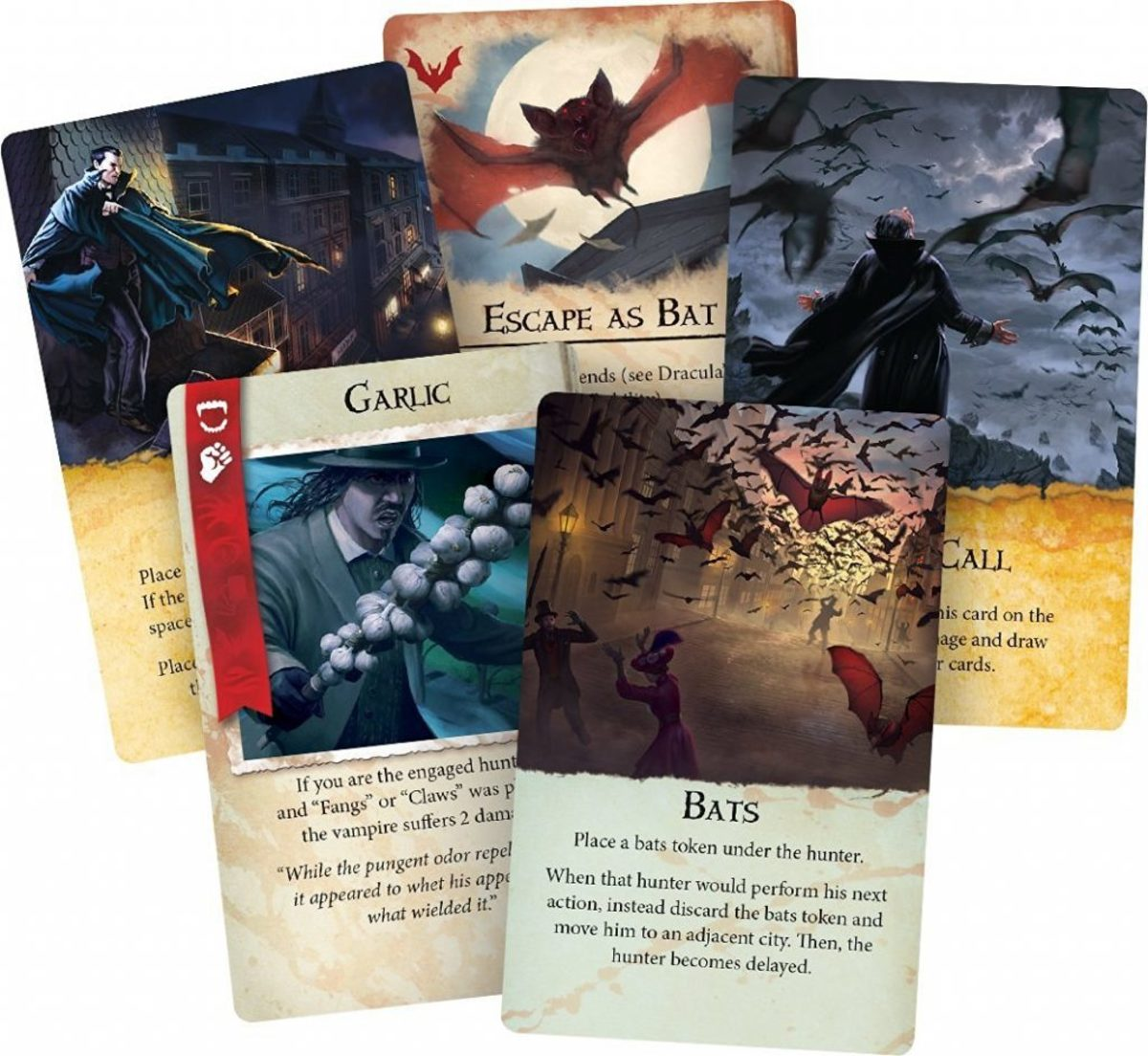 Fury of Dracula cards