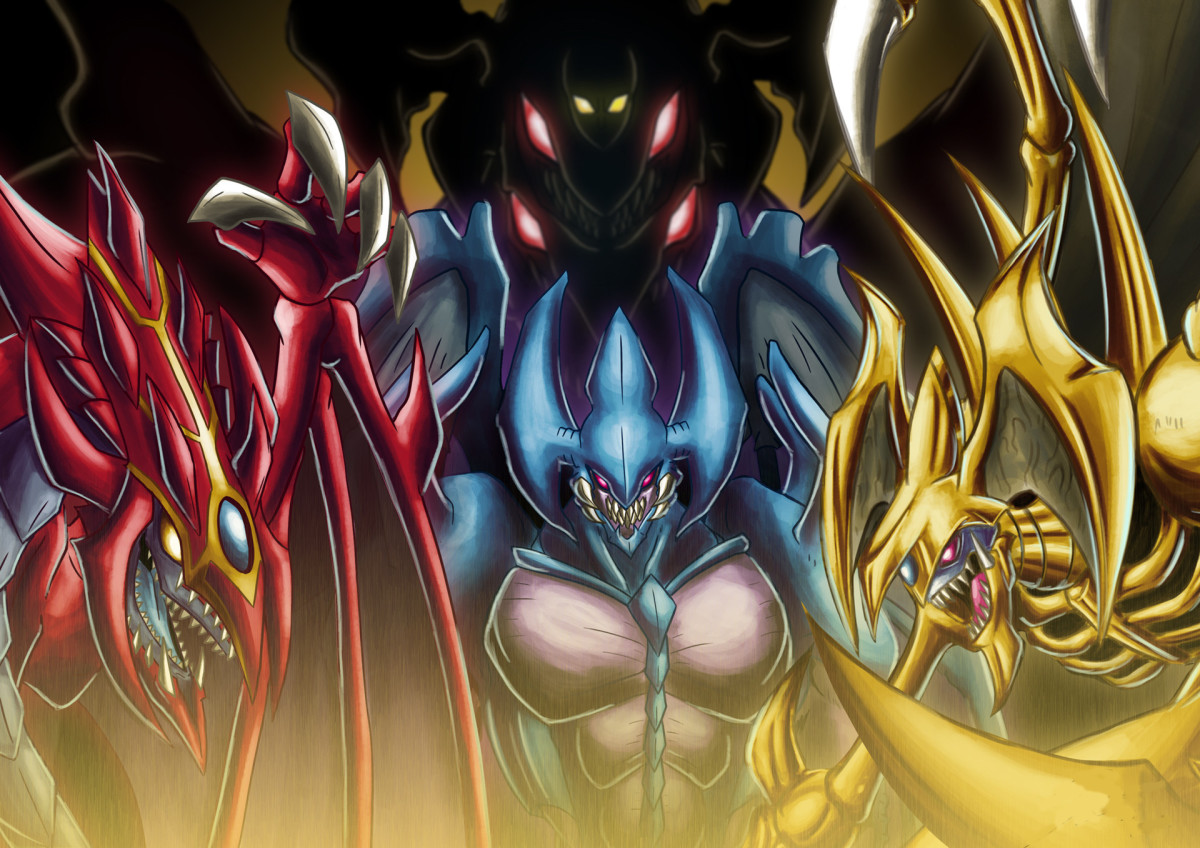 The Sacred Beasts in Yu-Gi-Oh