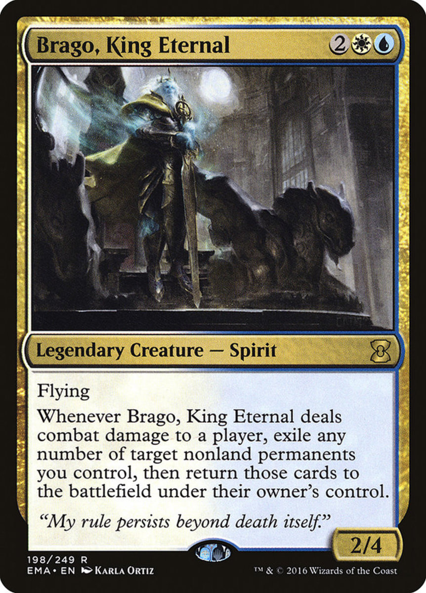 Commander Brago, King Eternal