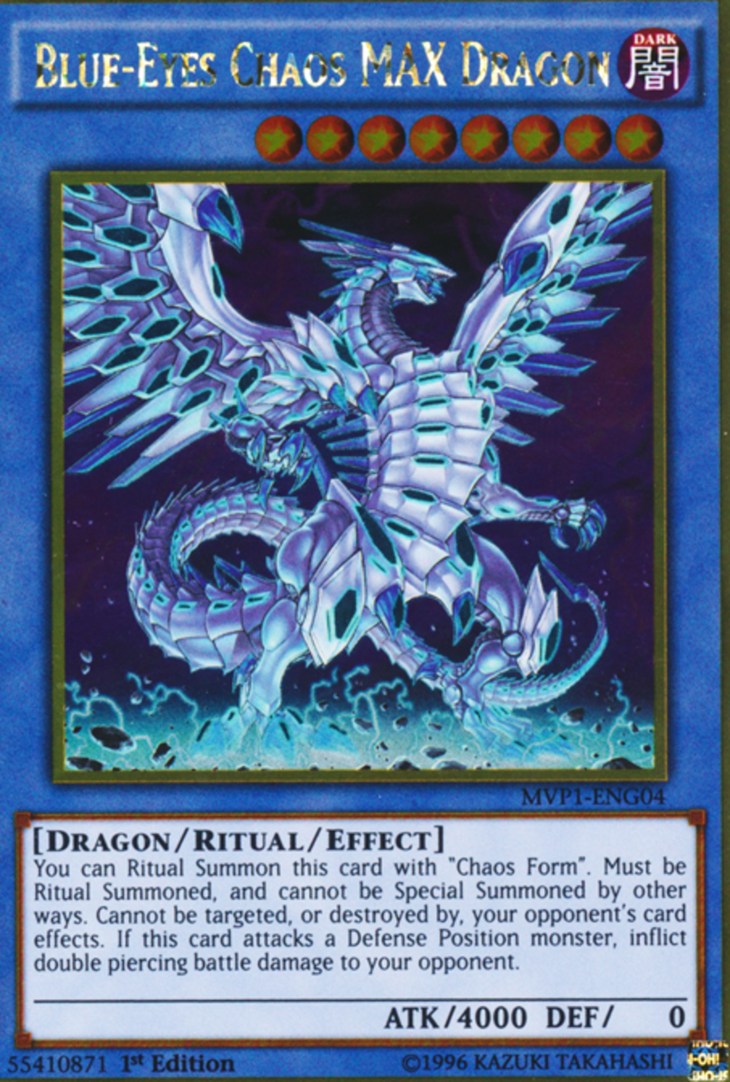 Blue-Eyes Chaos MAX Dragon