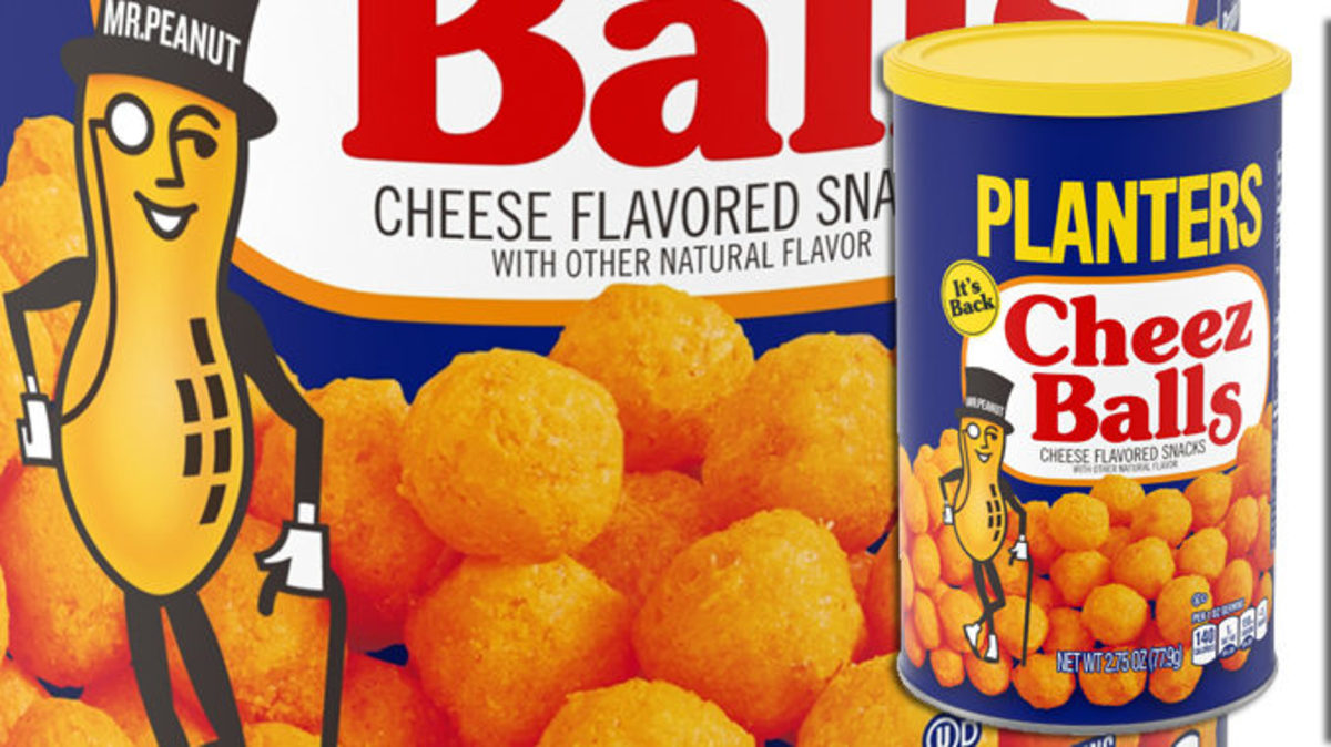 In 2006, Planters Cheez Balls were a real crowd-pleaser.
