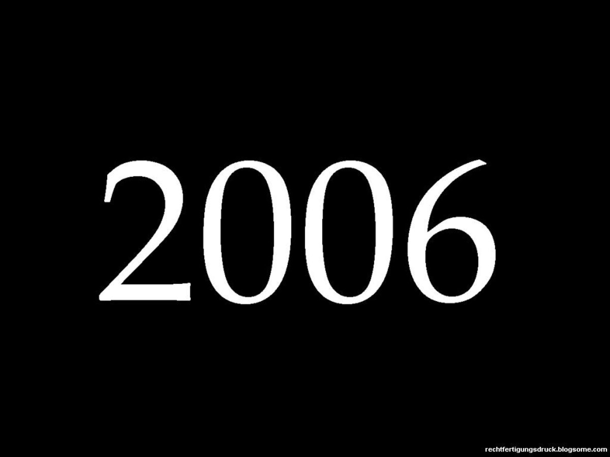 2006 Fun Facts, Trivia, and History