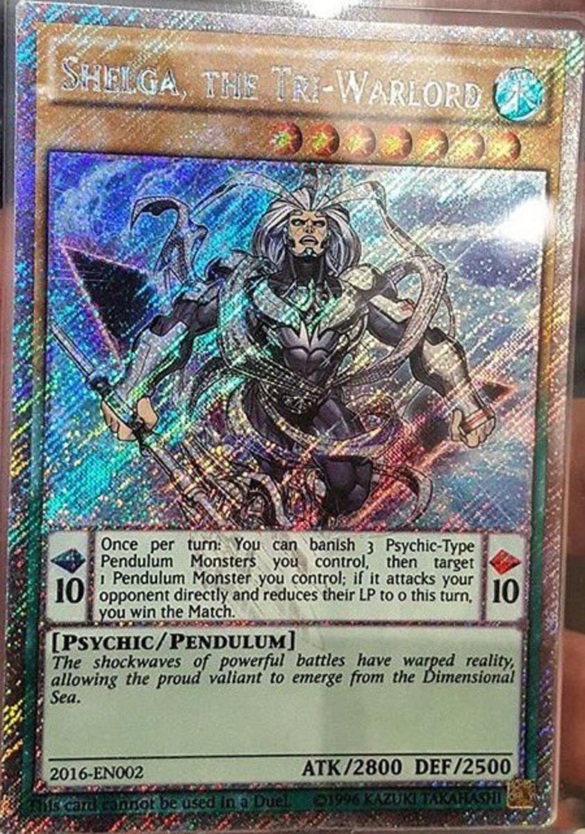 Shelga, the Tri-Warlord