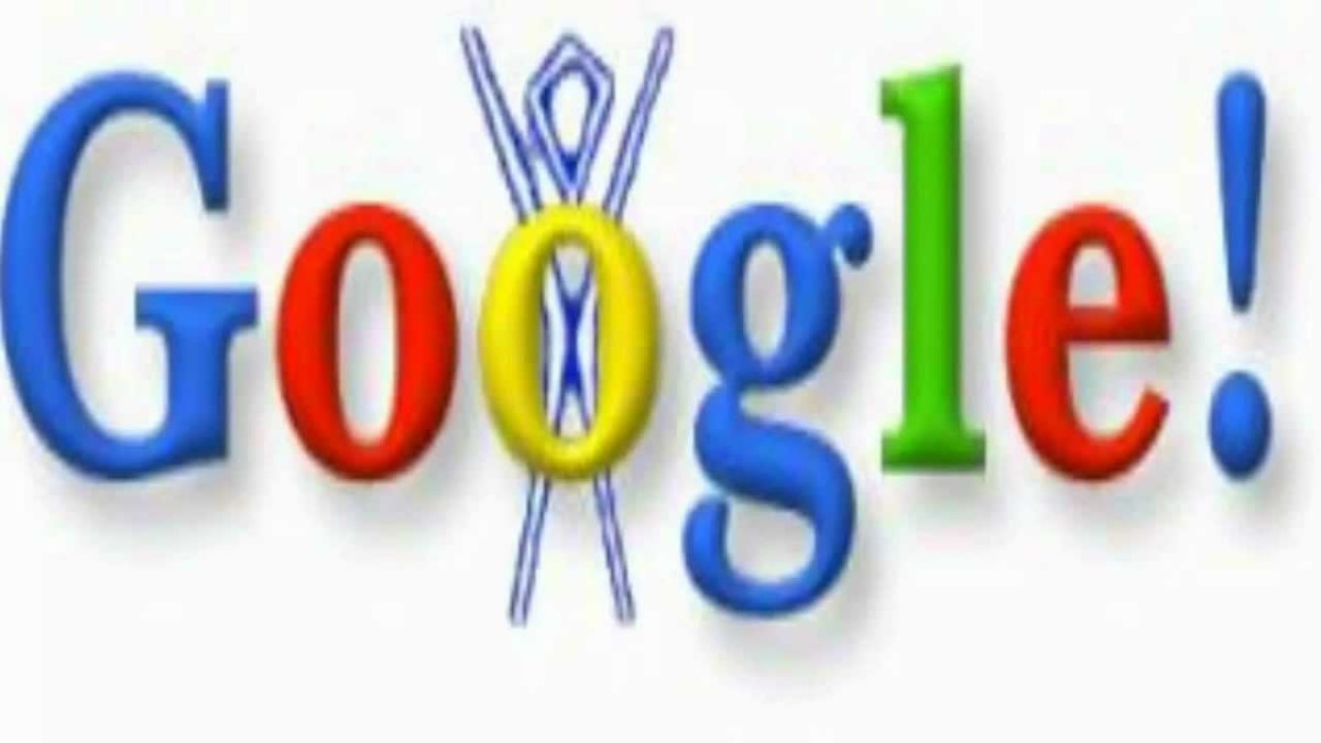"In 1998, Google's first ""Google Doodle"" appeared on their web page."