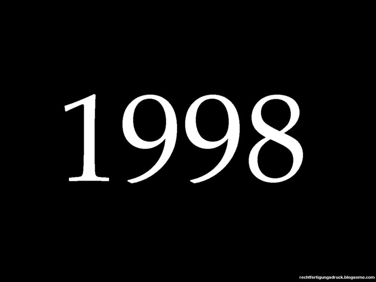 1998 Fun Facts, Trivia, and History