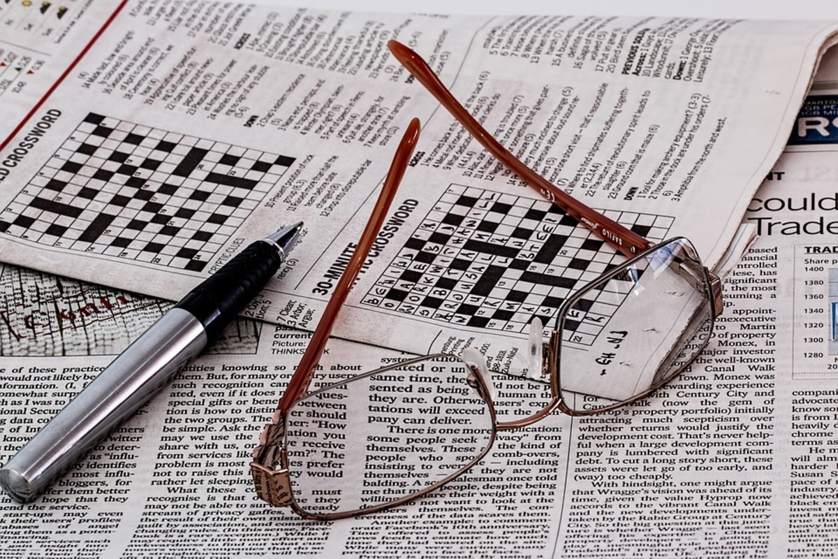 A History of Crosswords