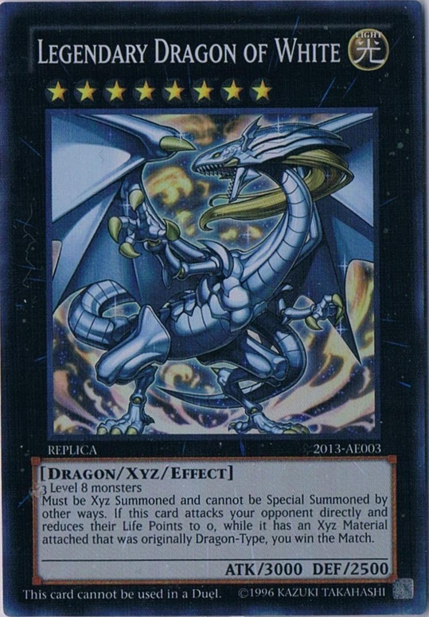 Legendary Dragon of White