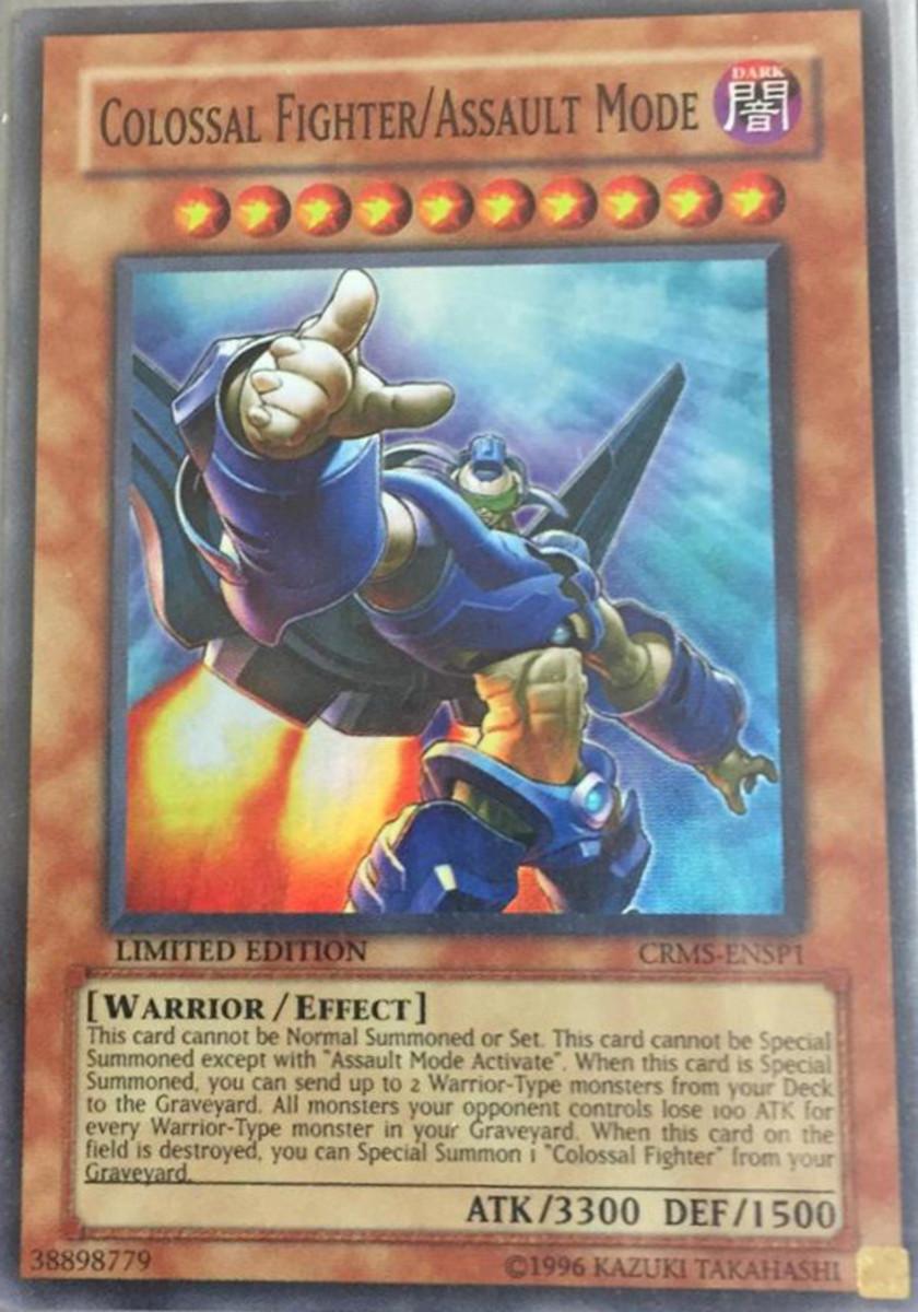Colossal Fighter/Assault Mode