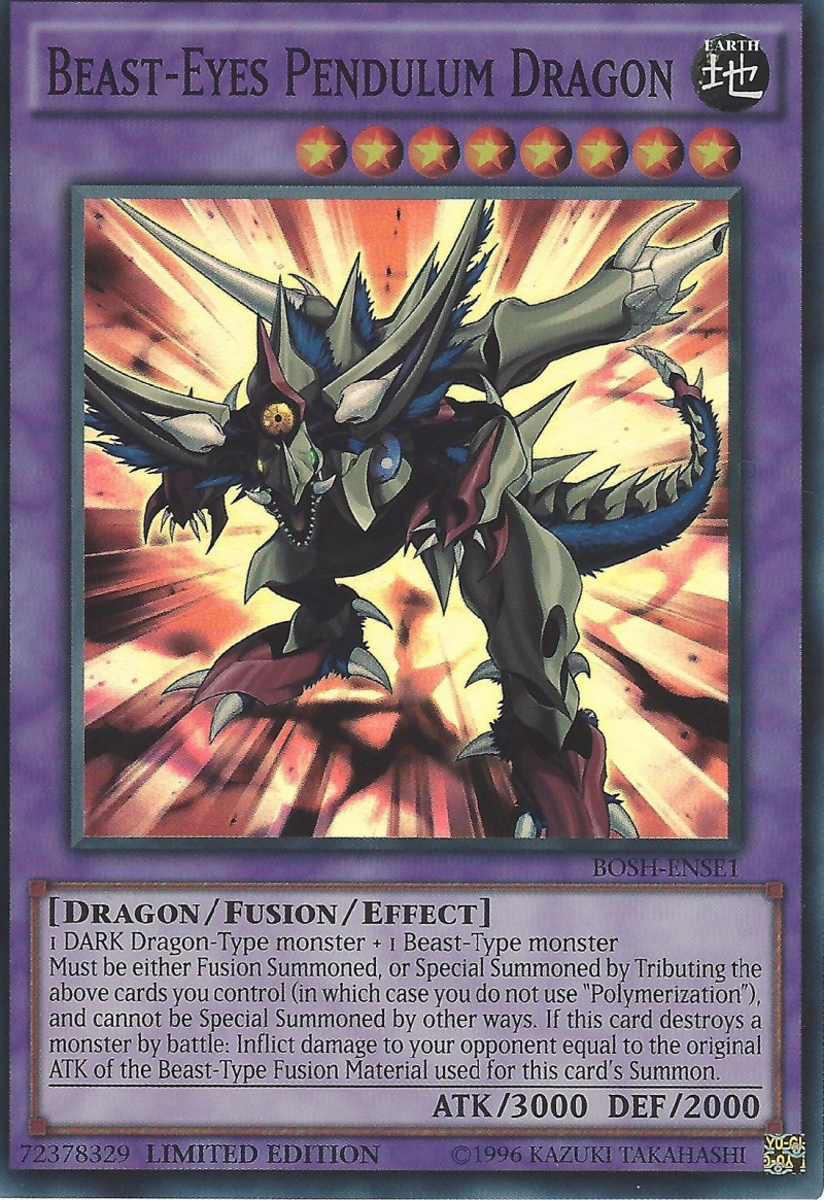 Beast-Eyes Pendulum Dragon