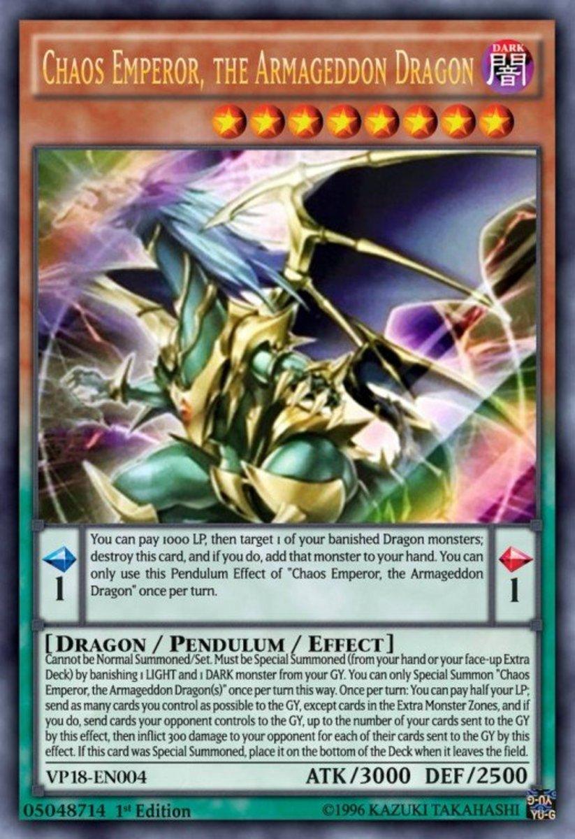 Chaos Emperor, the Dragon of Armageddon
