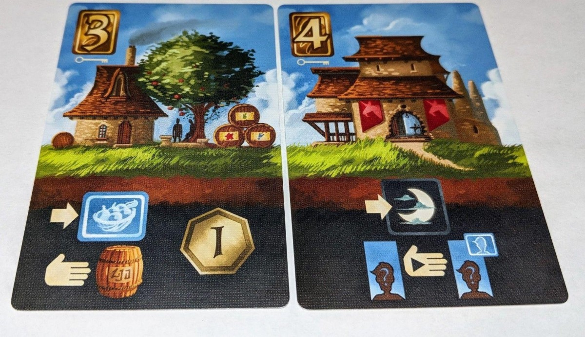 Above and Below key promo cards