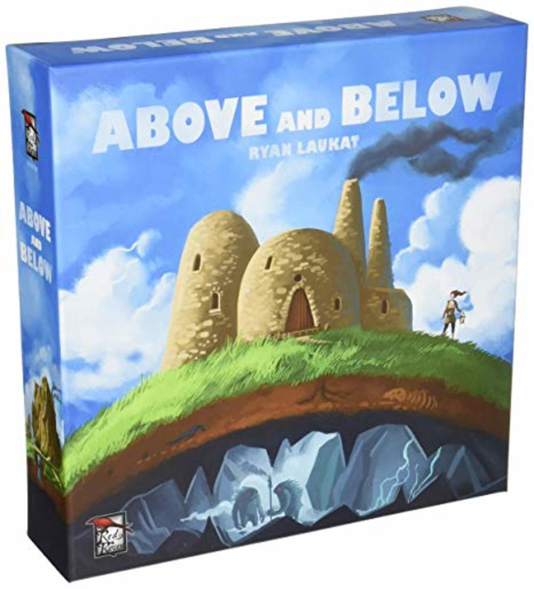 Above and Below game box