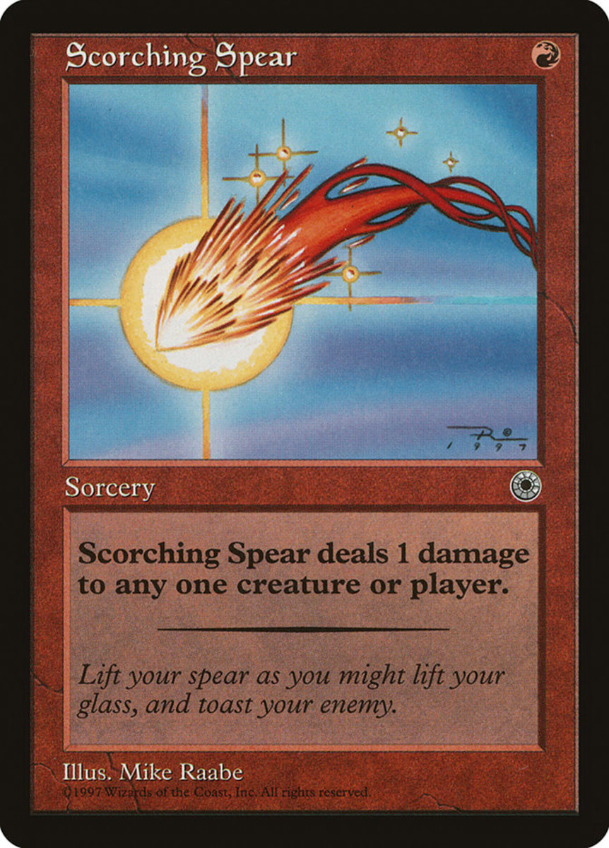 Scorching Spear