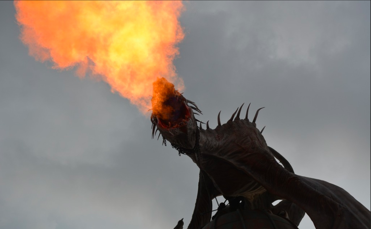 When fighting dragons, duelling spells certainly come in handy.