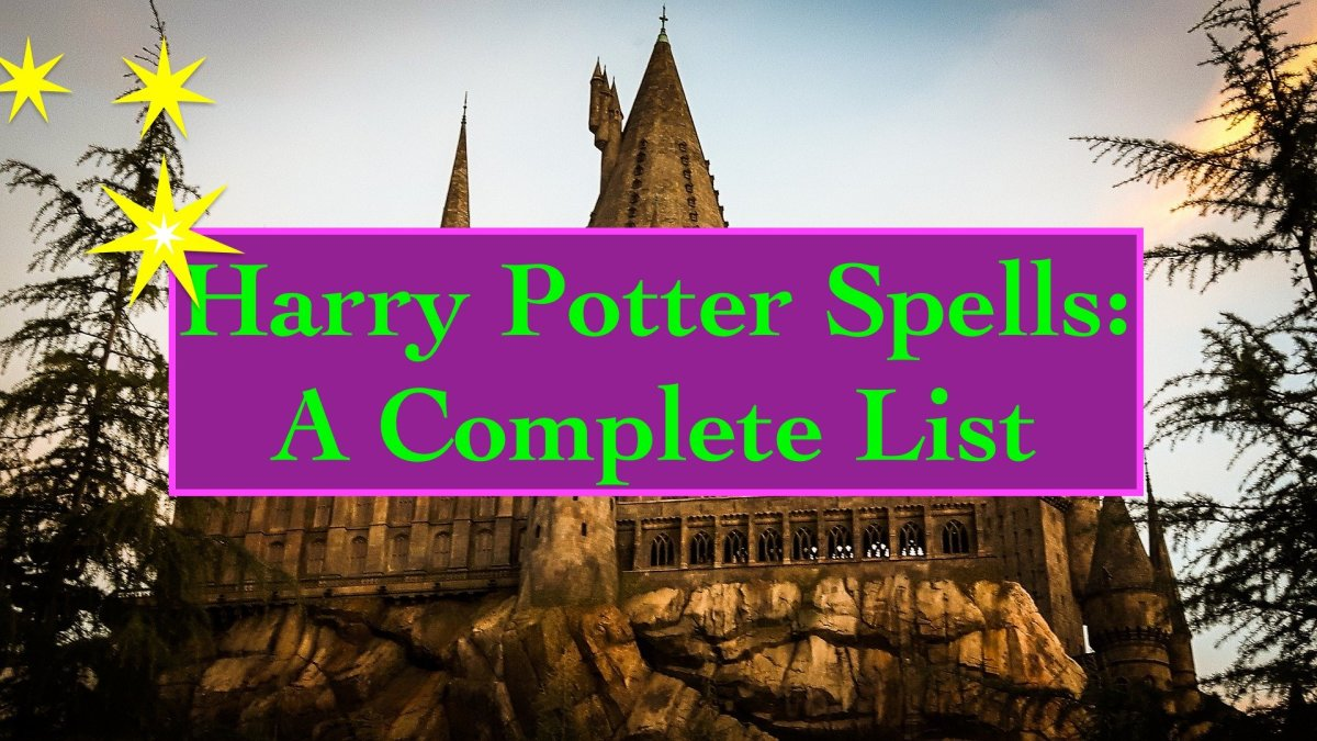 Harry Potter Spells The Complete List Hobbylark
