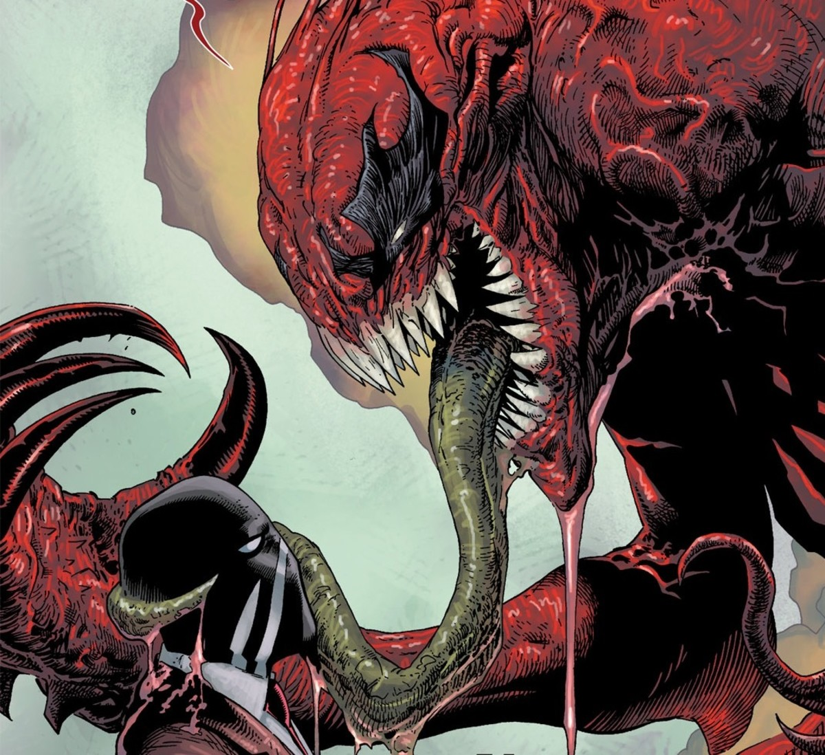 The Toxin Symbiote (with Eddie Brock)