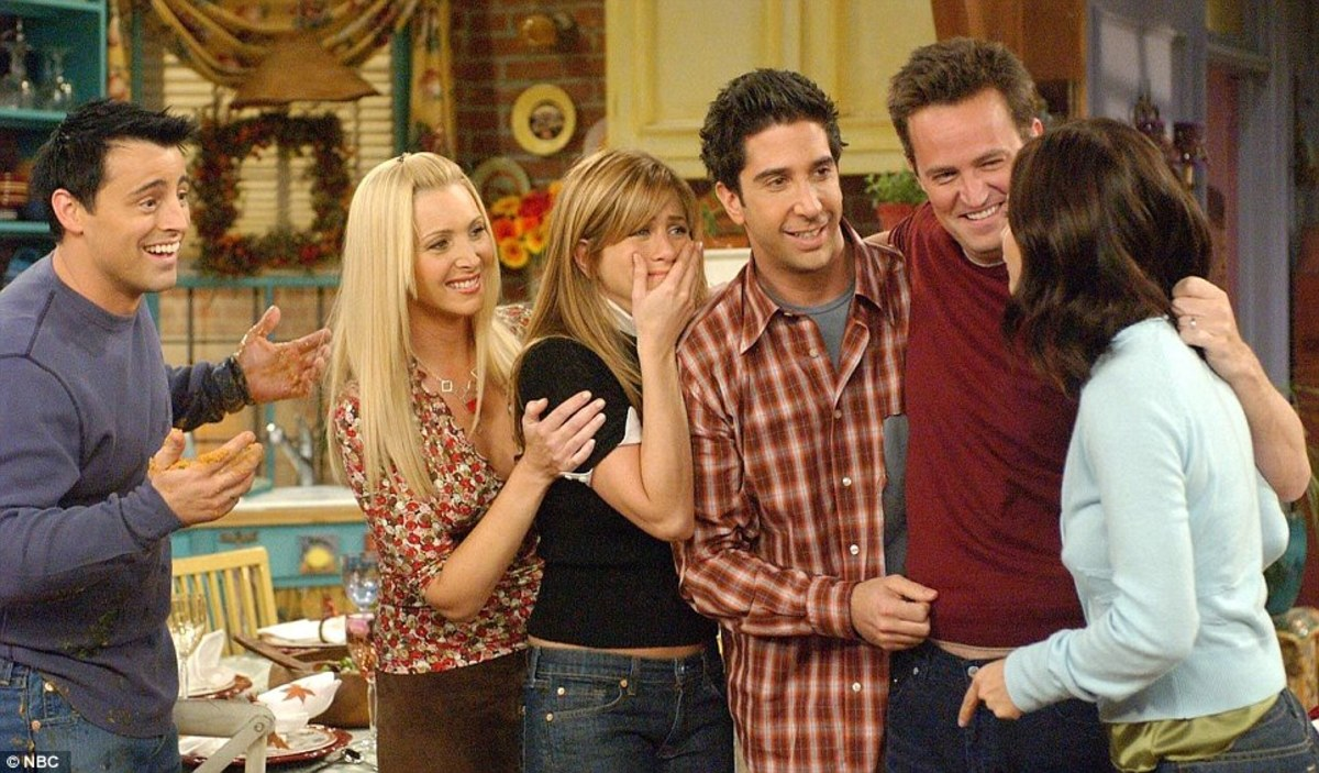 "In 2001, ""Friends"" was the most popular TV show."