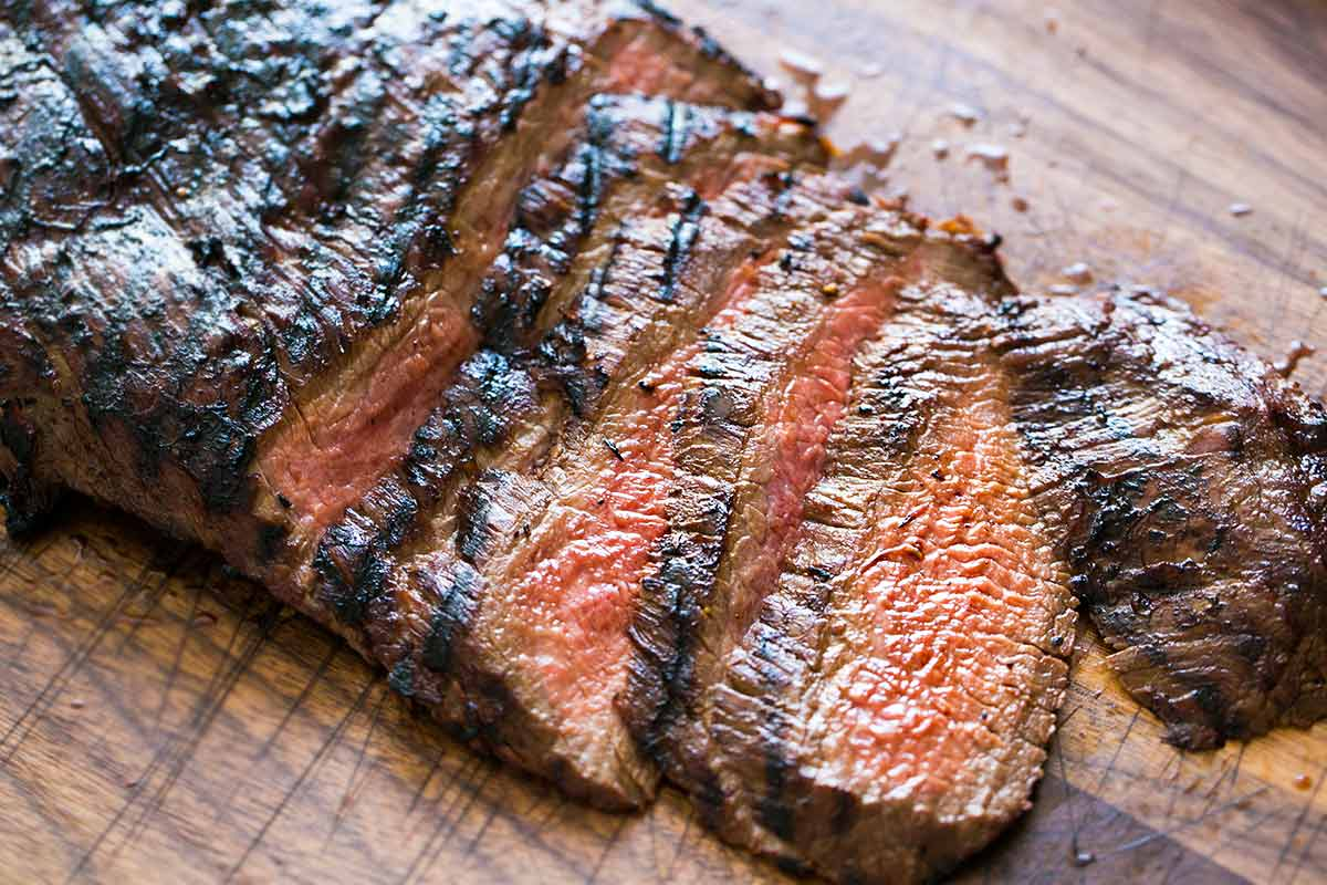 In 1995, flank steak was a real crowd-pleaser.