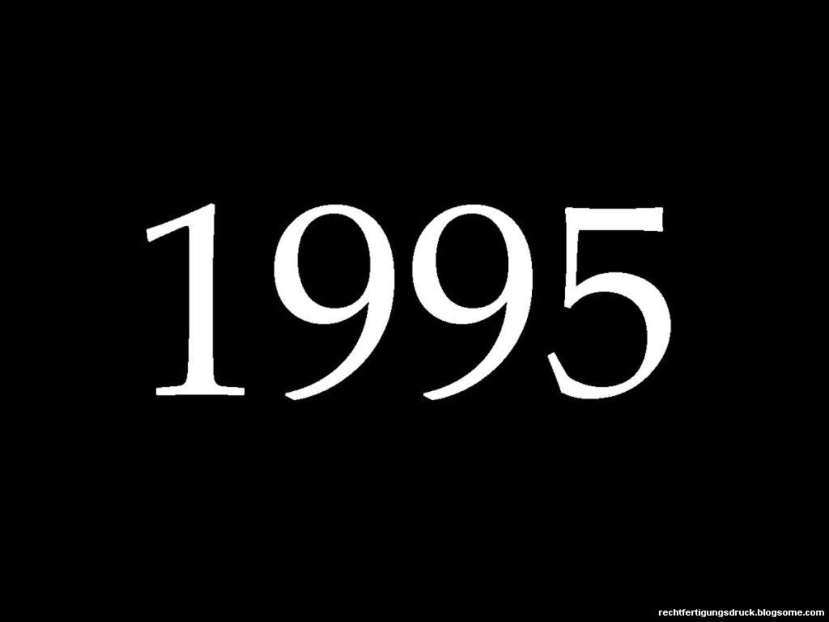 1995 Fun Facts, Trivia, and Major Events