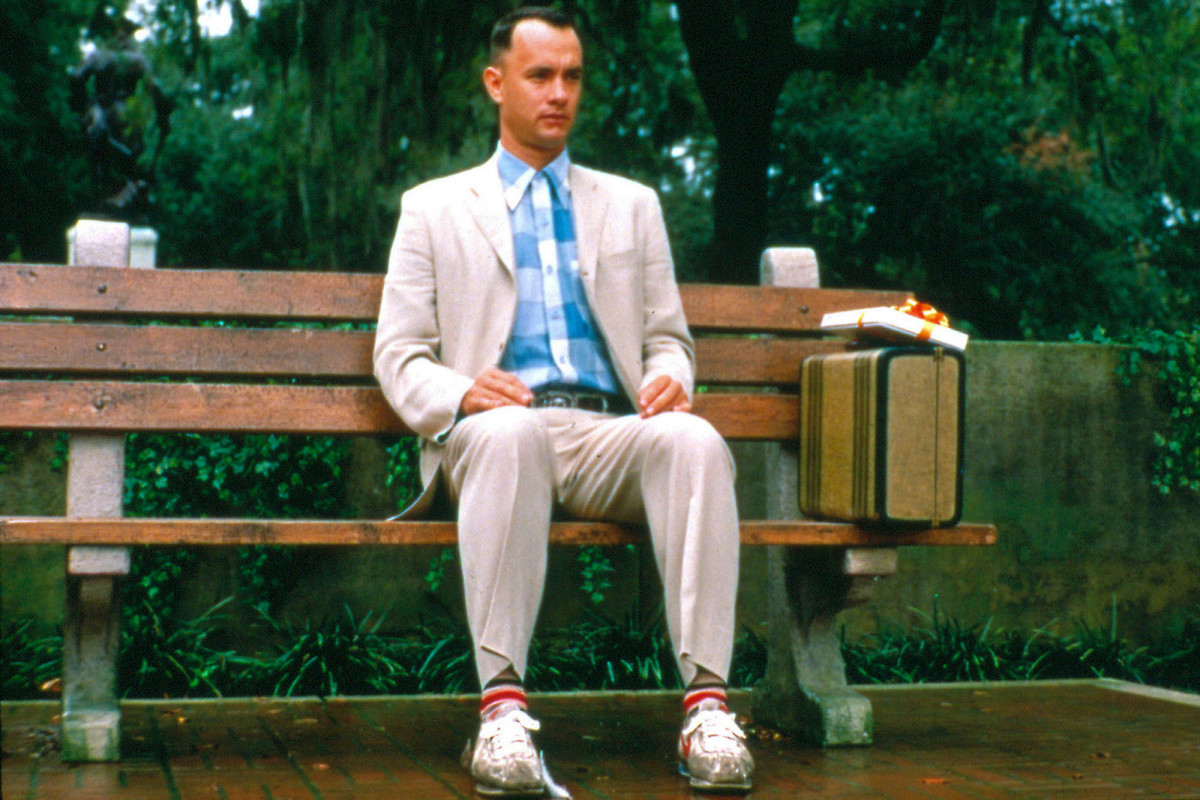 "In 1995, Tom Hanks (""Forrest Gump"") won an Oscar for Best Actor. ""Forrest Gump"" also won an Academy Award for ""Best Picture."""