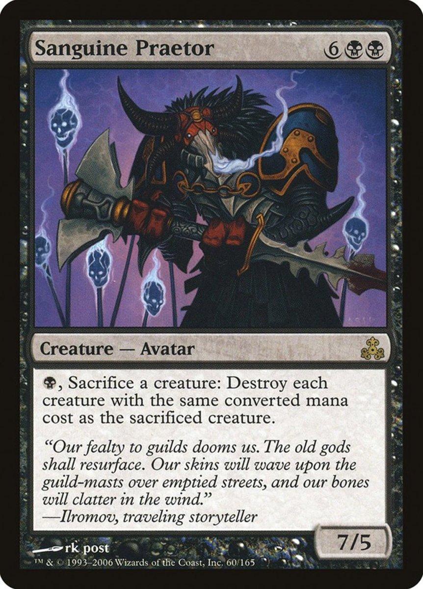 Top 7 Praetors in Magic: The Gathering