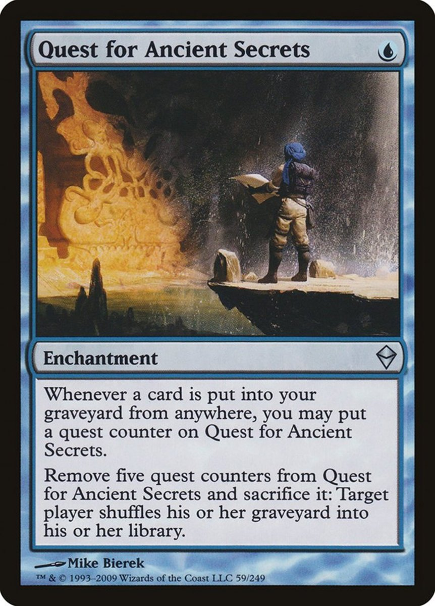 Top 10 Quest Enchantments in Magic: The Gathering