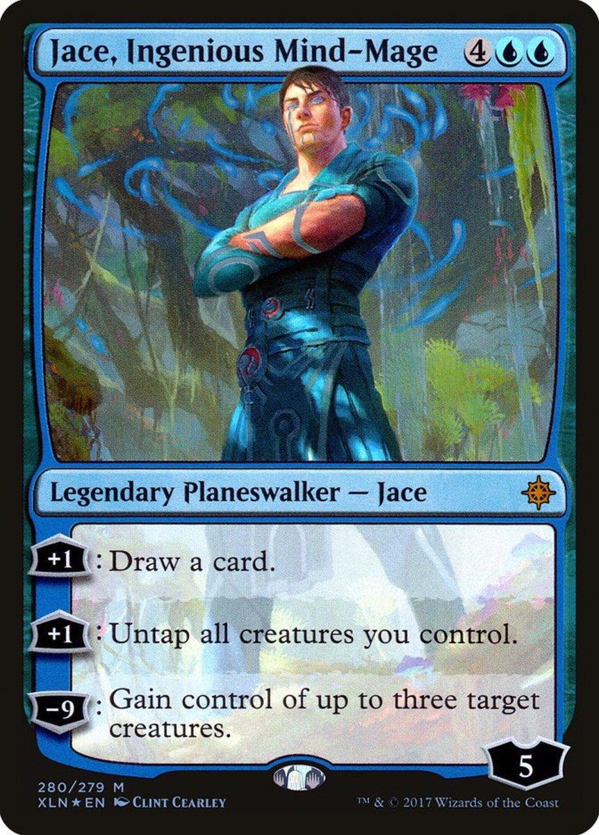 top 10 blue planeswalkers in magic the gathering  hobbylark