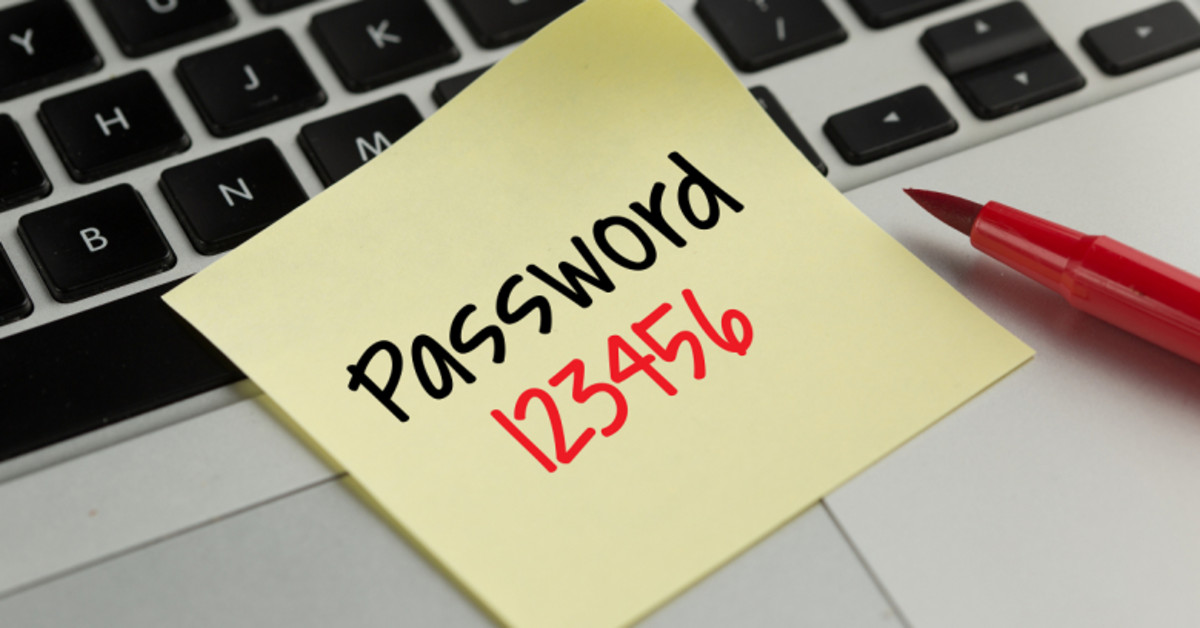 """In 2007, """"123456"""" was a common password."""