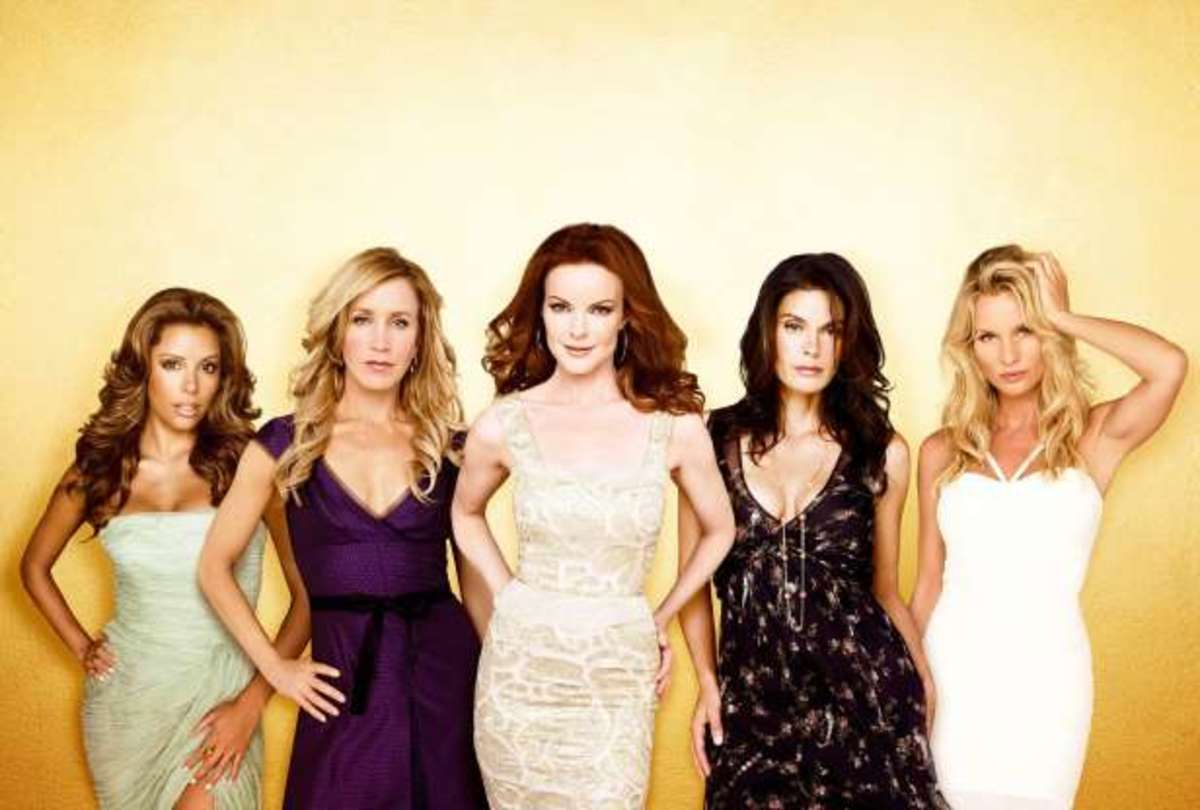 """In 2007, """"Desperate Housewives"""" (ABC) was a favorite television show."""