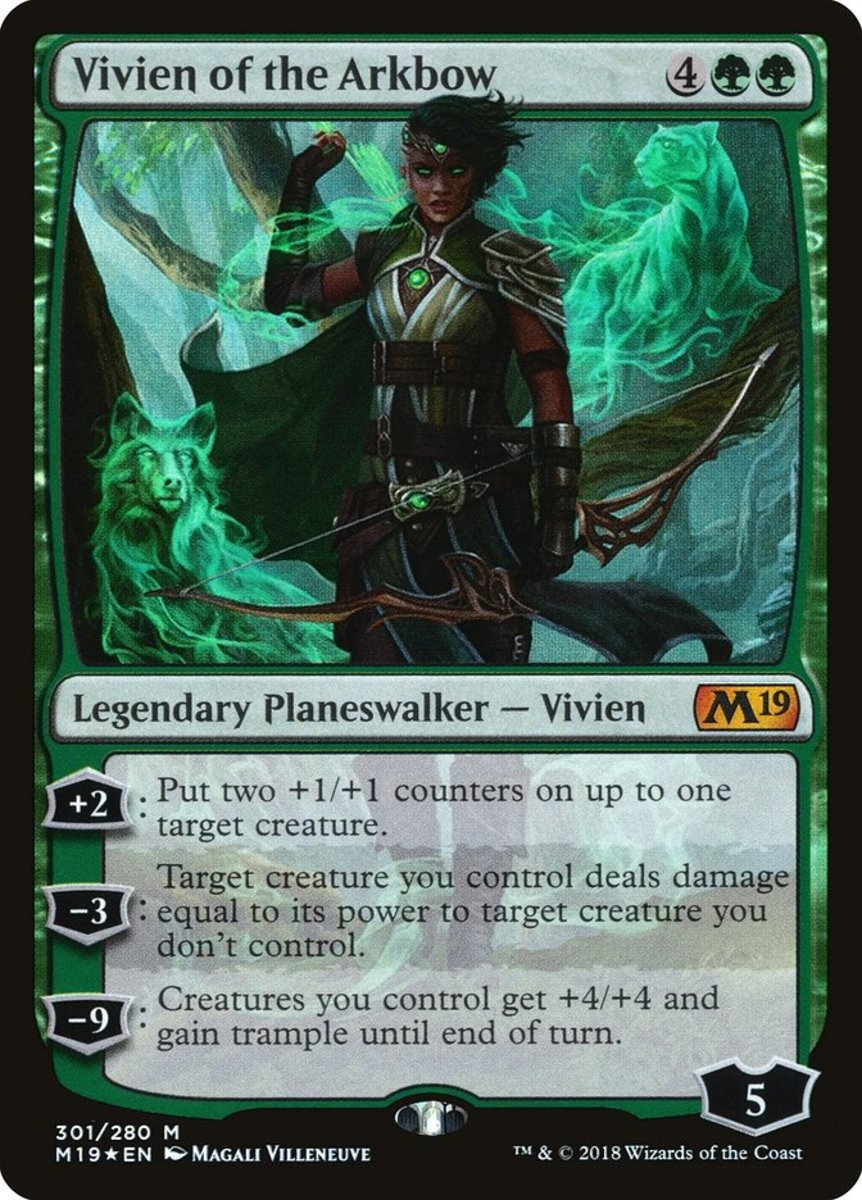 Top 10 Green Planeswalkers in Magic: The Gathering