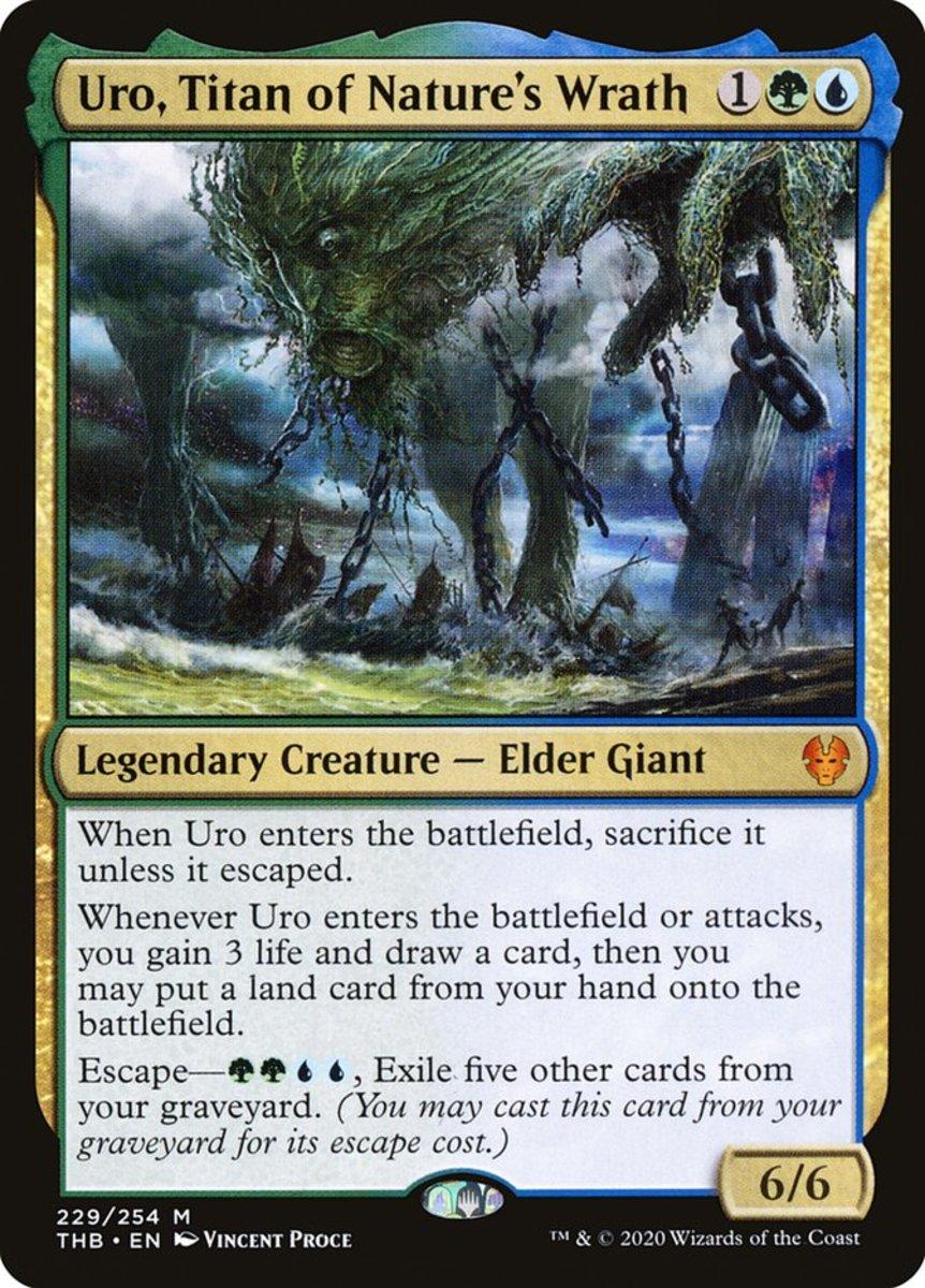 Uro, Titan of Nature's Wrath mtg