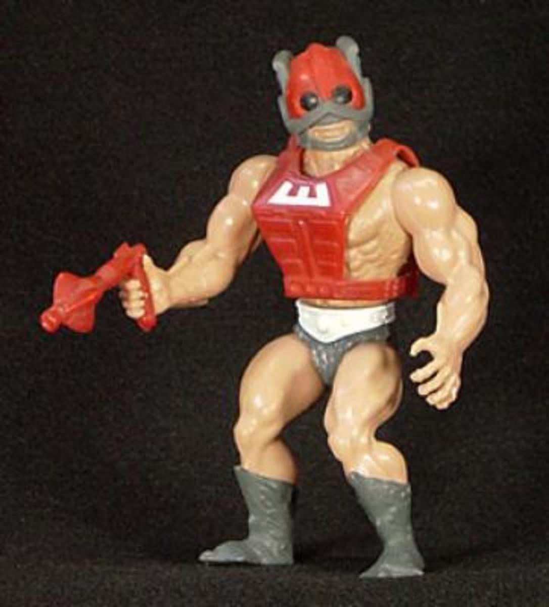 Very nice-looking figure that added a cool Buck Rogers feel to the already awesome world of He-Man.