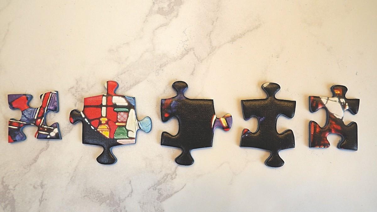 Various puzzle piece shapes.