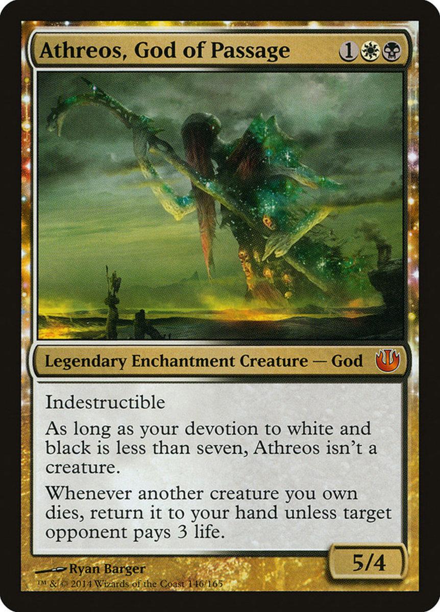 Athreos, God of Passage mtg