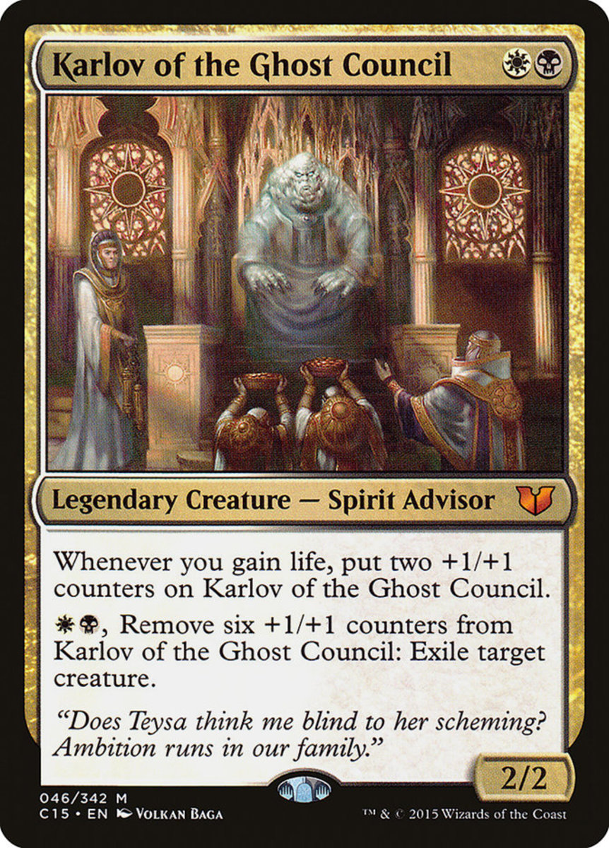Karlov of the Ghost Council mtg