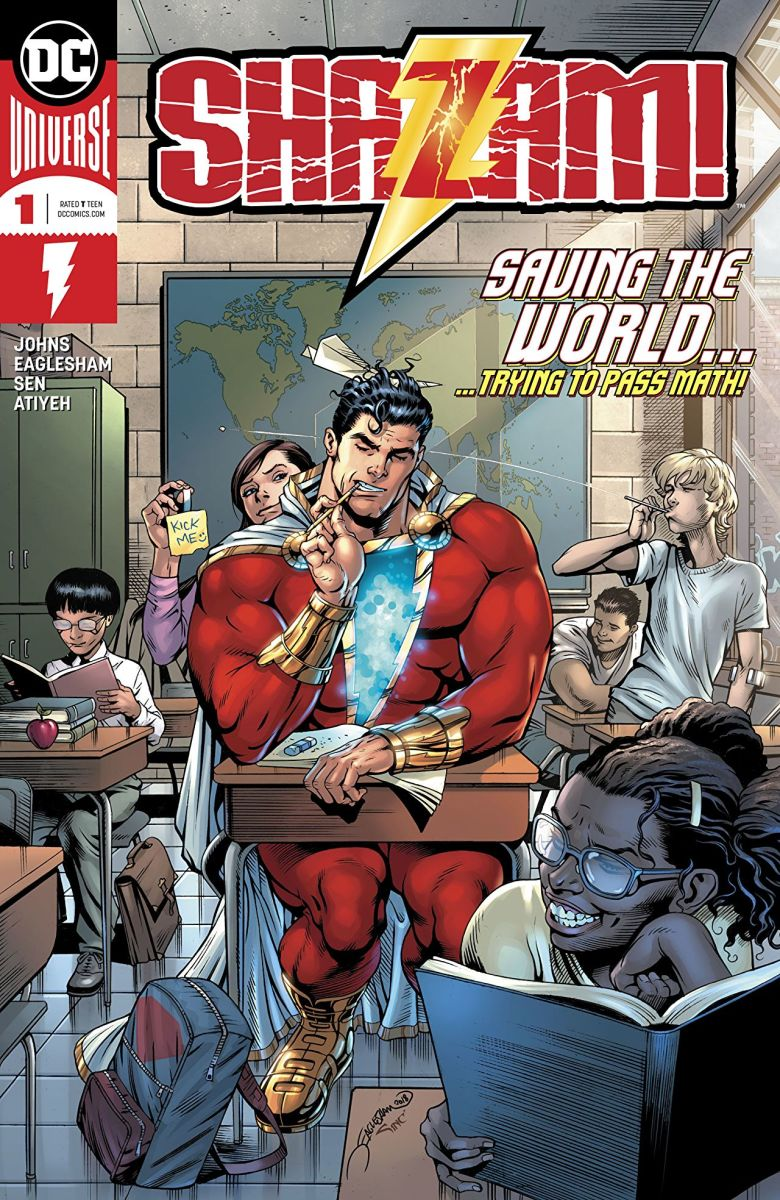 In 2018, Shazam got his solo-title.