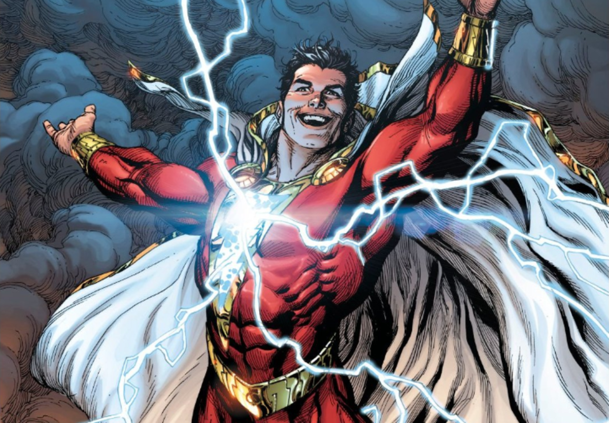 """Shazam!"" #1 (2018) Variant Cover by Gary Frank"