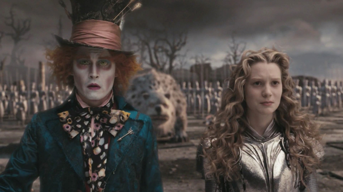In 2010, Alice in Wonderland became the fifth highest-grossing film of all time.