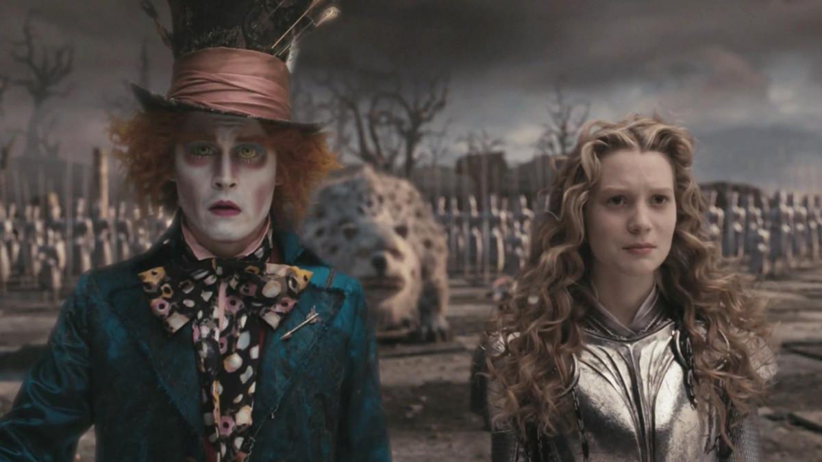 "In 2010, ""Alice in Wonderland"" was a popular film."