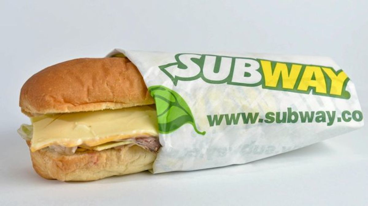 In 2010, Subway had over 34,000 sandwich shops in 96 countries.