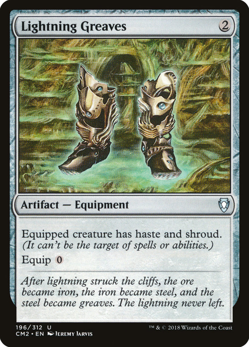 Lightning Greaves mtg