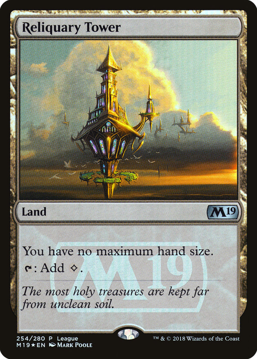 Reliquary Tower mtg
